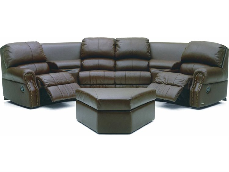Palliser Charleston Motion Home Theater Sectional Sofa