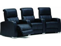 Hifi HTS Manual Reclining Home Theater Sectional (3 Seats Straight Configuration)