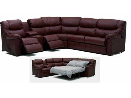 Palliser Regent Powered Motion Sectional with Sofa Bed Sofa