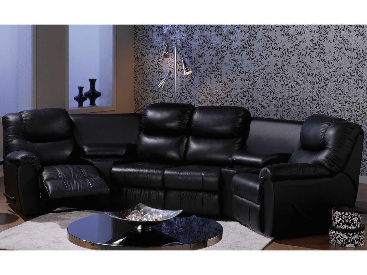 Palliser Regent Motion Home Theater Sectional Sofa