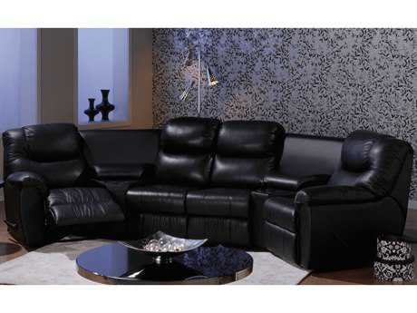 Palliser Regent Powered Motion Home Theater Sectional Sofa