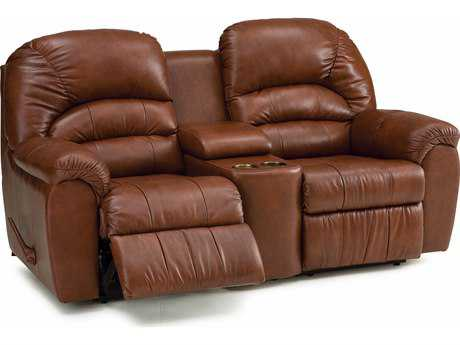 Palliser Taurus Console Loveseat with Cupholder