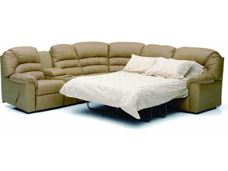 Palliser Taurus Powered Motion Sectional with Sofa Bed Sofa