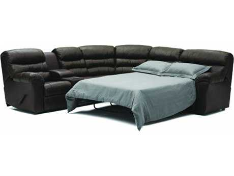 Palliser Durant Motion Sectional with Sofa Bed Sofa