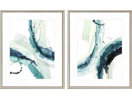 Paragon Abstract Depth-I Canvas Wall Art (Set of 2)