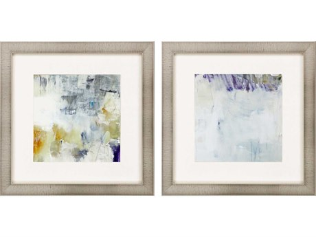 Paragon Abstract Off the Wall-I Canvas Wall Art (Set of 2)