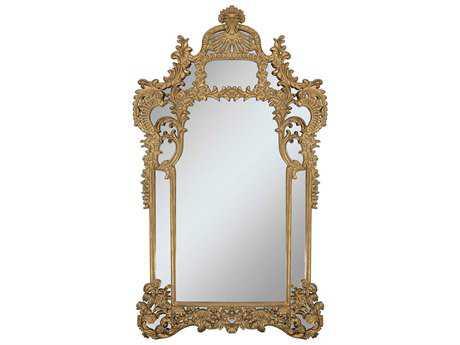 Paragon Antoinette 48 x 86 Gold Floor Mirror