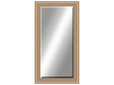 Paragon Beveled 36 x 78 Aged Silver Floor Mirror