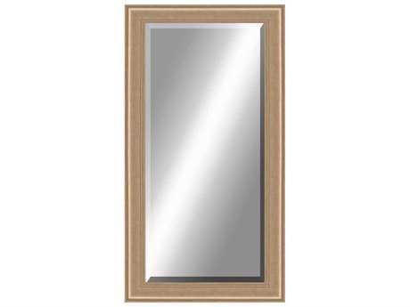Paragon Beveled 36 x 78 Aged Silver Floor Mirror