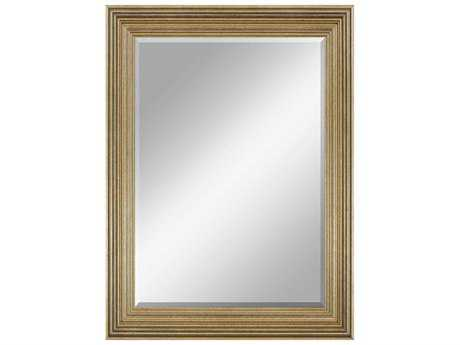 Howard Elliott Avondale 39 X 48 Bright Gold Wall Mirror