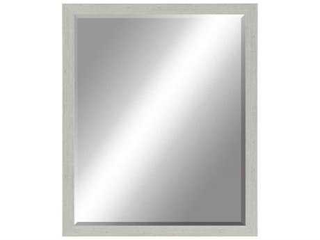 Paragon Beveled 26 x 32 Raked Silver Wall Mirror