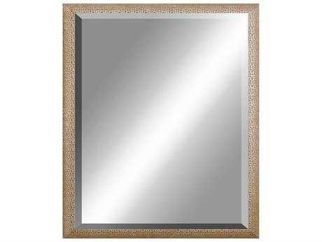 Howard Elliott Roman 32 X 51 Gold Wall Mirror He56048