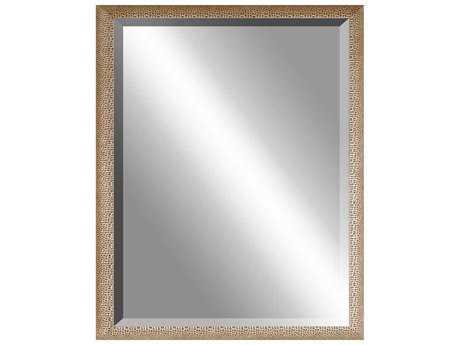 Howard Elliott Compass 36 Round Starburst Wall Mirror