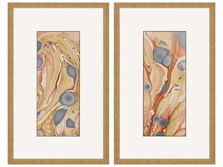 Paragon Color Course Canvas Wall Art (Set of 2)