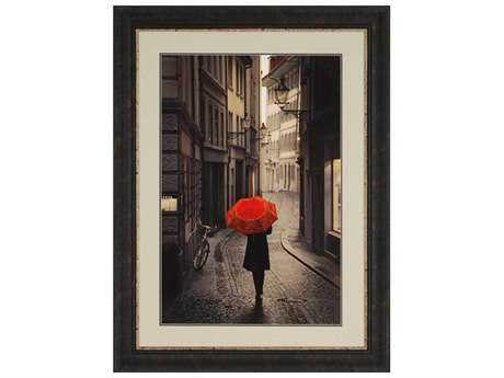 Paragon Corso Red Rain Painting