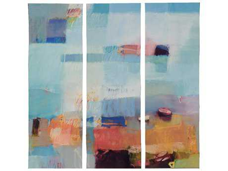Paragon Davis Set of 3 ''Surround Wavy'' Wall Art