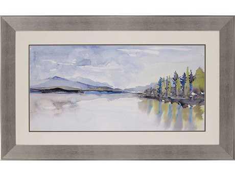 Paragon Gold ''Lakefront Watercolor'' Wall Art PAD3863