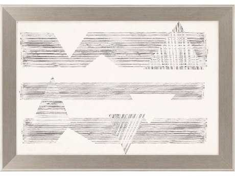 Paragon Goldberger Stagger Triangles I Giclee Painting PAD1126