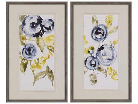 Paragon Goldberger Anemone Wall Art (Two-Piece Set) PAD3294