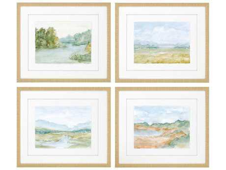 Paragon Harper Watercolour Giclee Painting (Four-Piece Set) PAD7043