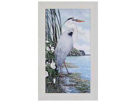 Paragon Harris Great Blue Heron Painting
