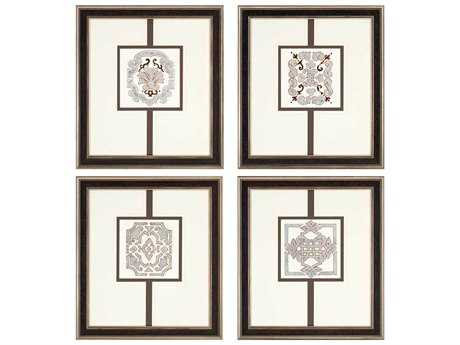 Paragon Kinder Harris Jardine Sassy Neutrals Painting (Four-Piece Set)
