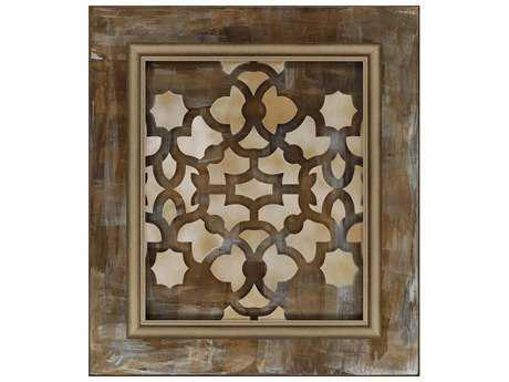 Paragon Kinder Harris Jardine Bronze Maze II Painting
