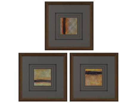 Paragon Kinder Harris Kh Studio Sunset II Painting (Three-Piece Set)