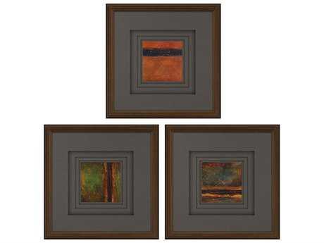 Paragon Kinder Harris Kh Studio Sunset III Painting (Three-Piece Set)