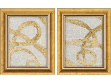 Paragon Kinder Harris Kh Studio Gold Luxe Painting (Two-Piece Set)