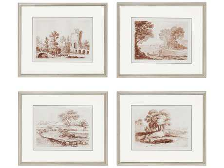 Paragon Lorrain Sketches Exclusive Giclee Painting (Four-Piece Set)