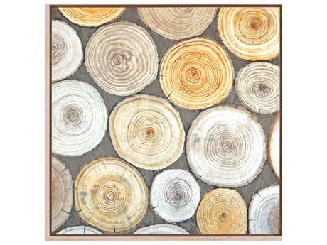 Paragon Naturals Tree Ring Study II Canvas Wall Art