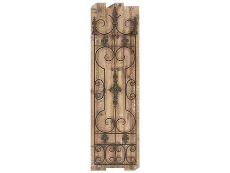 Paragon Rustic Trellis II Metal Wood Wall Art PAD9415