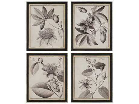 Paragon Sellier Passiflora Exclusive Giclee Painting (Four-Piece Set)
