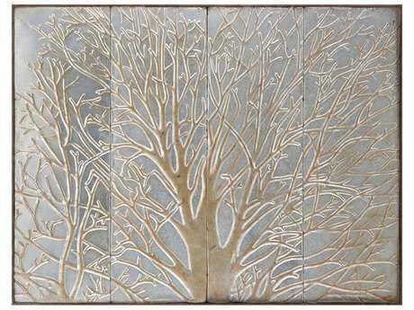 Paragon ''Tangled Tree'' Metal Wall Art PAD9459