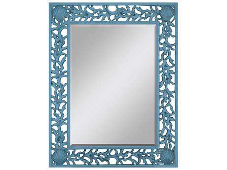 Paragon Blue Splash 38 x 49 Wall Mirror PAD8795