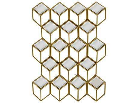 Paragon Mirror Squared 24'' W x 33'' H Wall Mirror PAD9457