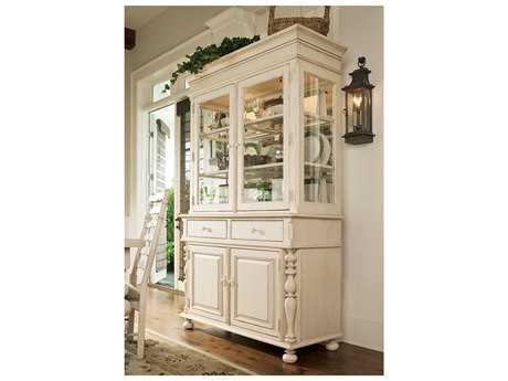 Paula Deen Home Linen China Cabinet with Hutch PDH996680C