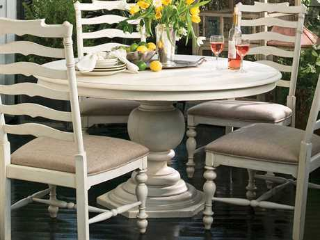 Paula Deen Home Linen 54'' Round Pedestal Dining Table PDH996655