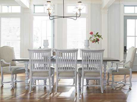 Paula Deen Home Dogwood Blossom with Driftwood Top Dining Set