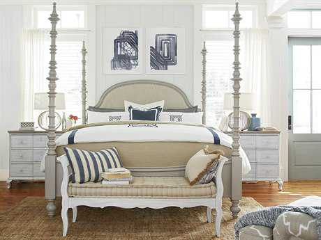 Paula Deen Home Dogwood Cobblestone Poster Bed Bedroom Set