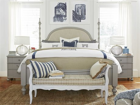 Paula Deen Home Dogwood Cobblestone California King Size Poster Bed