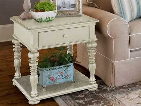 Paula Deen Home Linen 24'' x 26'' Rectangular End Table PDH996802