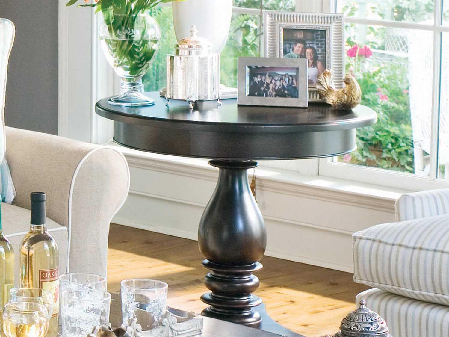 Paula Deen Home Tobacco 30 Round Pedestal Table Pdh932817