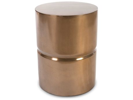 Phillips Collection Bronze Accent Stool