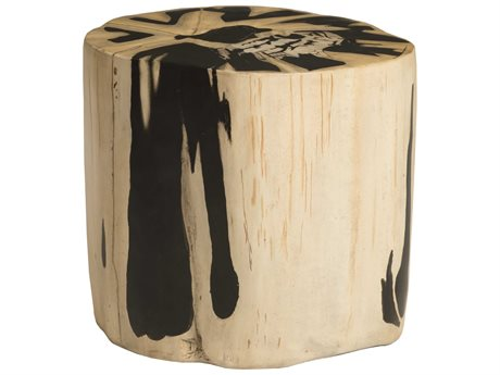 Phillips Collection Beige / Brown Accent Stool