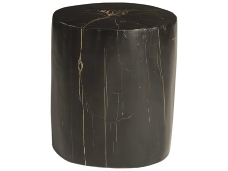 Phillips Collection Black / Gold Accent Stool PHCPH89728