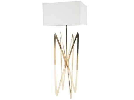 Phillips Collection Butterfly White / Gold Floor Lamp PHCCH72531