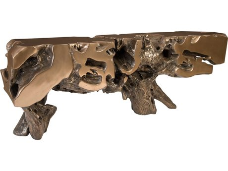 Phillips Collection Bronze 96'' Wide Console Table