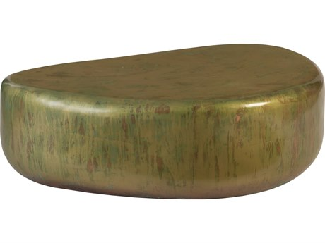 Phillips Collection Copper Acid Lichen 44'' Wide Coffee Table PHCCH77704